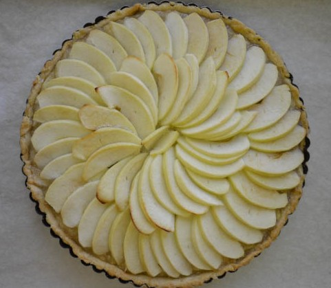 Frenh Apple Tart-4