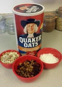 granola bars ingred c